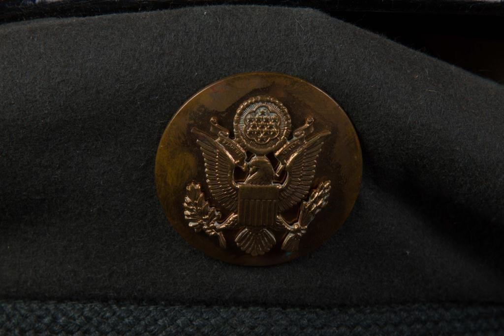 LARGE LOT OF MILITARY COVERS and HATS - 2