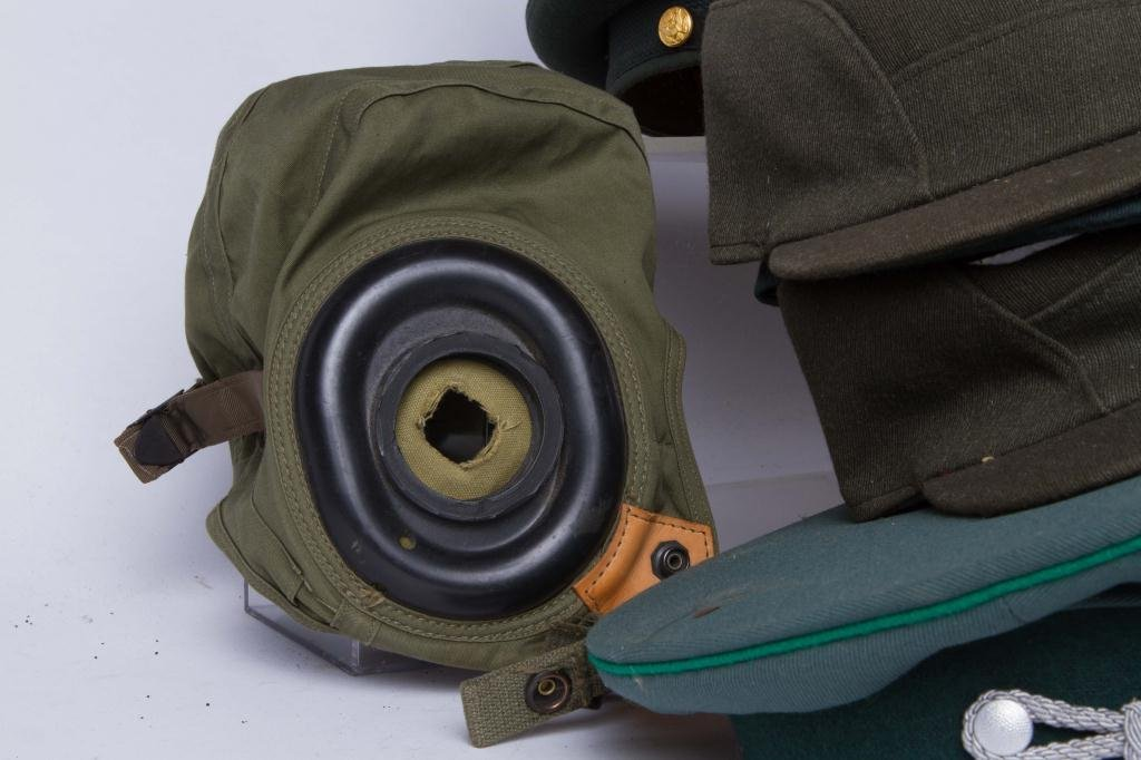 LARGE LOT OF MILITARY COVERS and HATS - 8