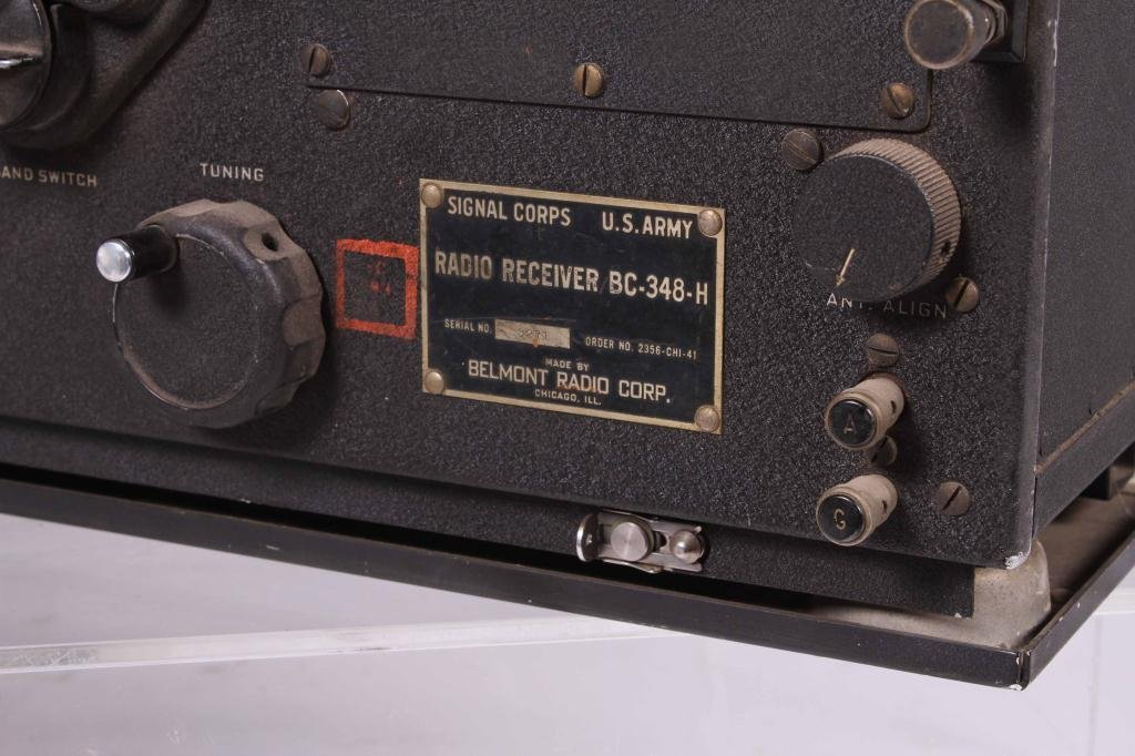 WWII SIGNAL CORPS FREQUENCY METER/ RADIO RECEIVER - 5