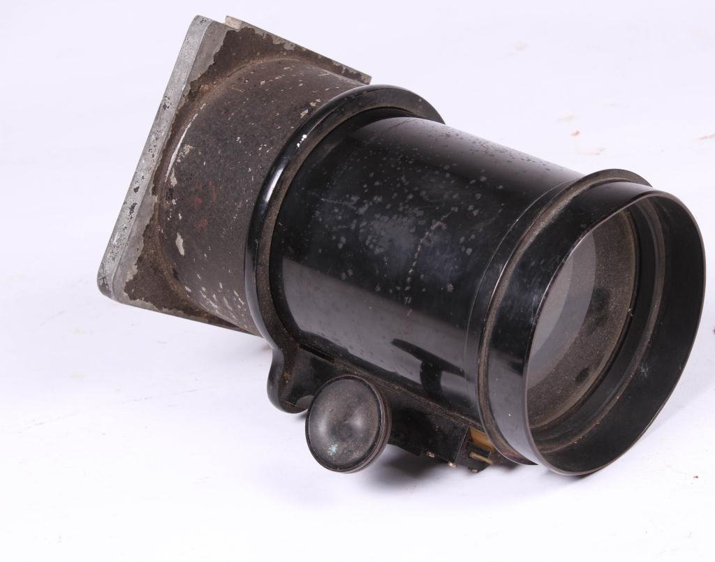 LARGE BAUSCH & LOMB LENS AND (2) BINOCULARS - 2