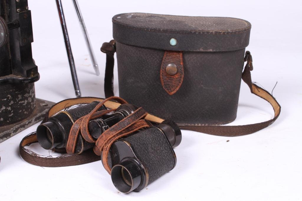 LARGE BAUSCH & LOMB LENS AND (2) BINOCULARS - 3