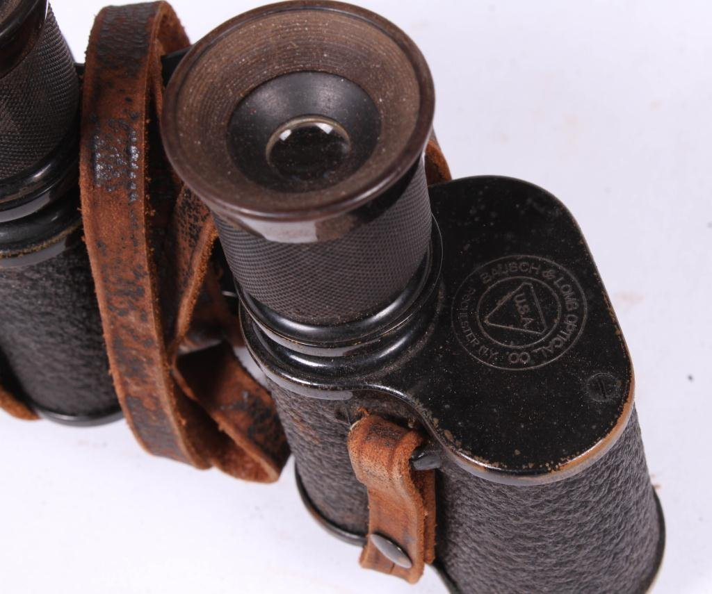 LARGE BAUSCH & LOMB LENS AND (2) BINOCULARS - 5