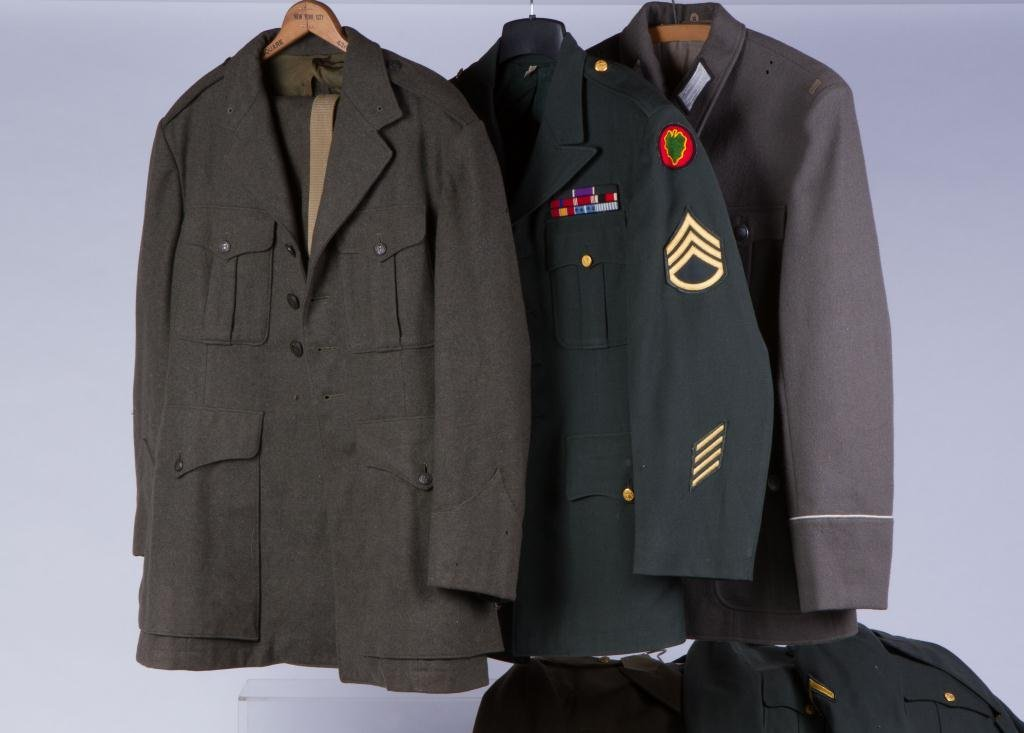 ASSORTMENT OF (10) MILITARY COATS AND JACKETS - 2