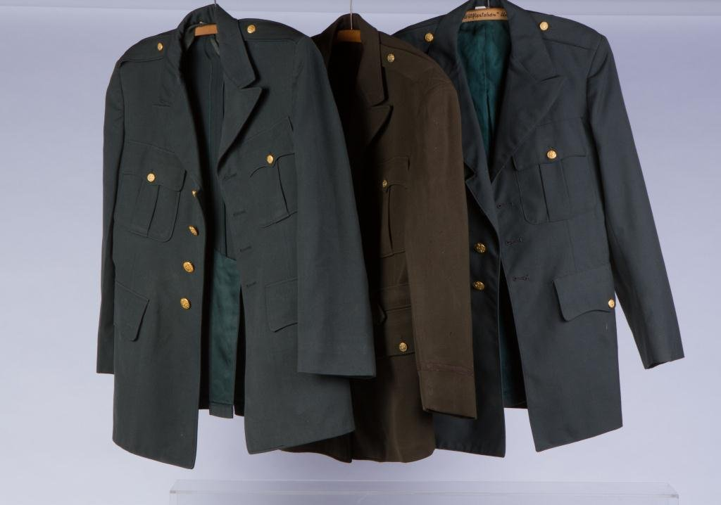 ASSORTMENT OF (10) MILITARY COATS AND JACKETS - 3