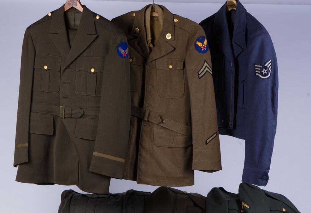 ASSORTMENT OF (10) MILITARY COATS AND JACKETS - 4