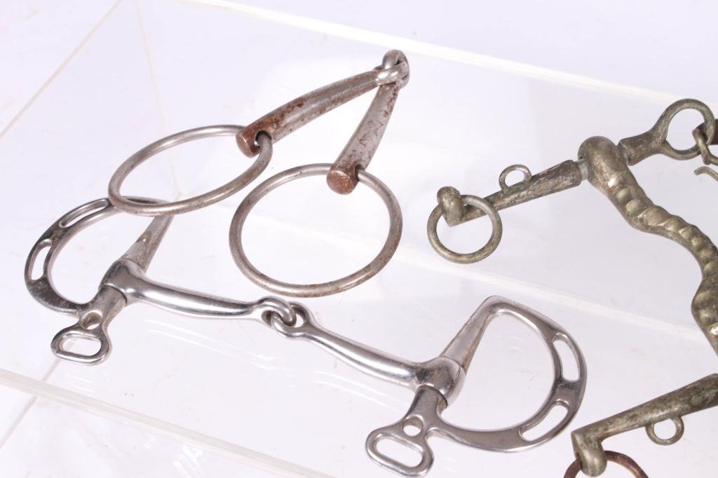 ASSORTMENT OF HORSE TACK AND SPURS - 3