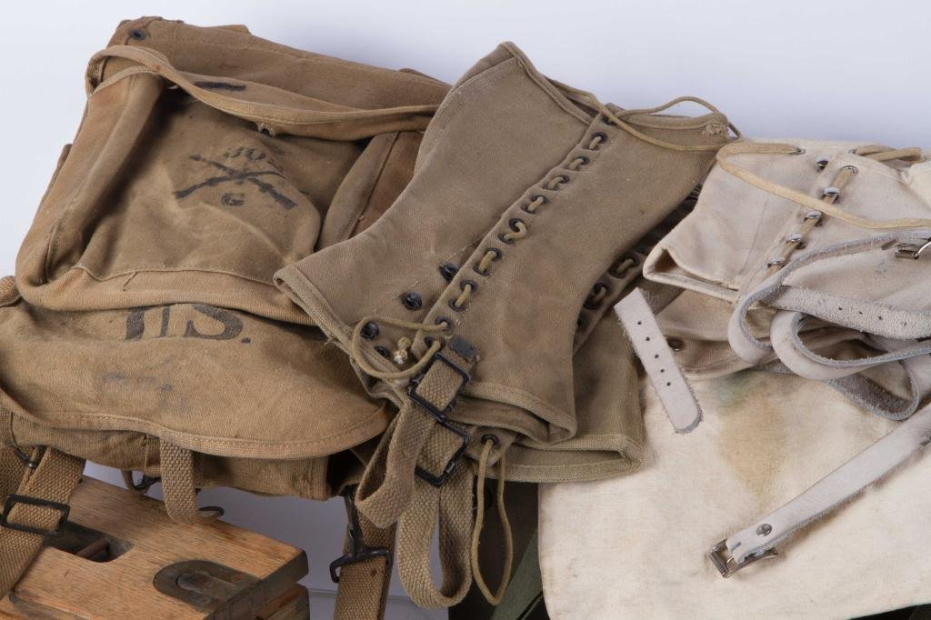 WWI to VIETNAM MILITARY CLOTHING & ACCESSORIES - 2