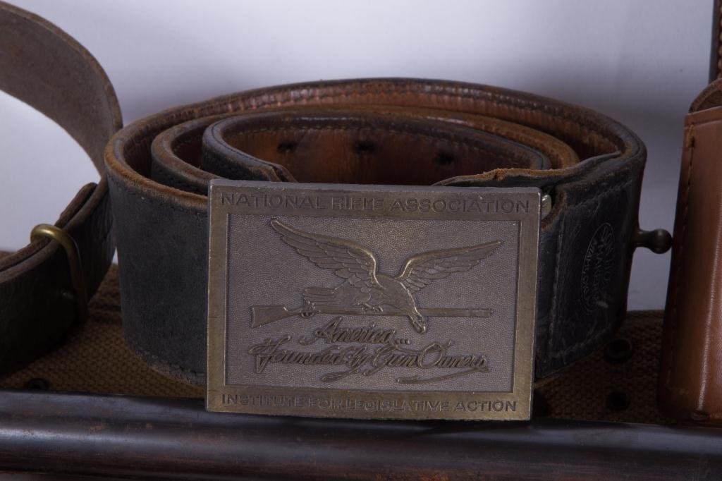 OVER (30) US MILITARY, UTILITY & COMBAT BELTS ETC - 3