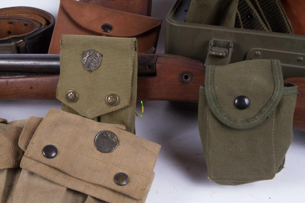 OVER (30) US MILITARY, UTILITY & COMBAT BELTS ETC - 6