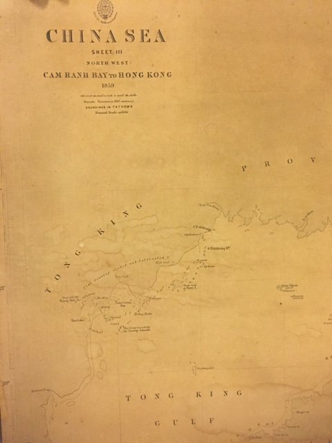 (19th c) NAUTICAL CHARTS and MAPS - 2