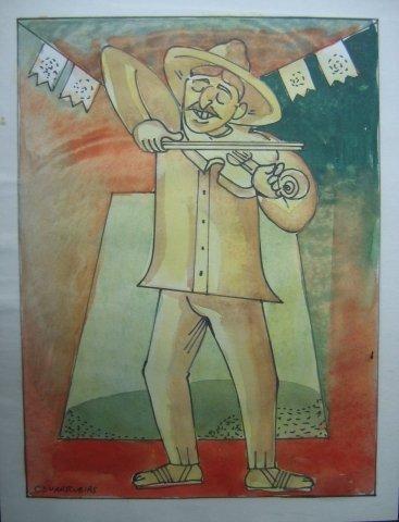 "16: Miguel Guarrubias (1904-1957), ""Fausto the violinis"