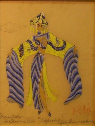 18: Romaine (Erte) de Tirtof (1892-1990), unsigned, wit
