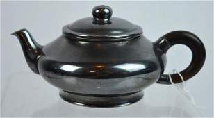 Very Fine 19th C Japanese Silver Teapot