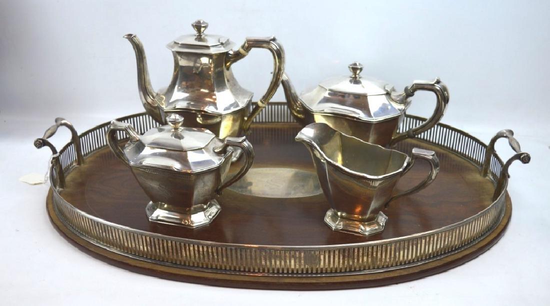 "5 Piece ""Frank Smith"" Sterling Silver Teapot Set"