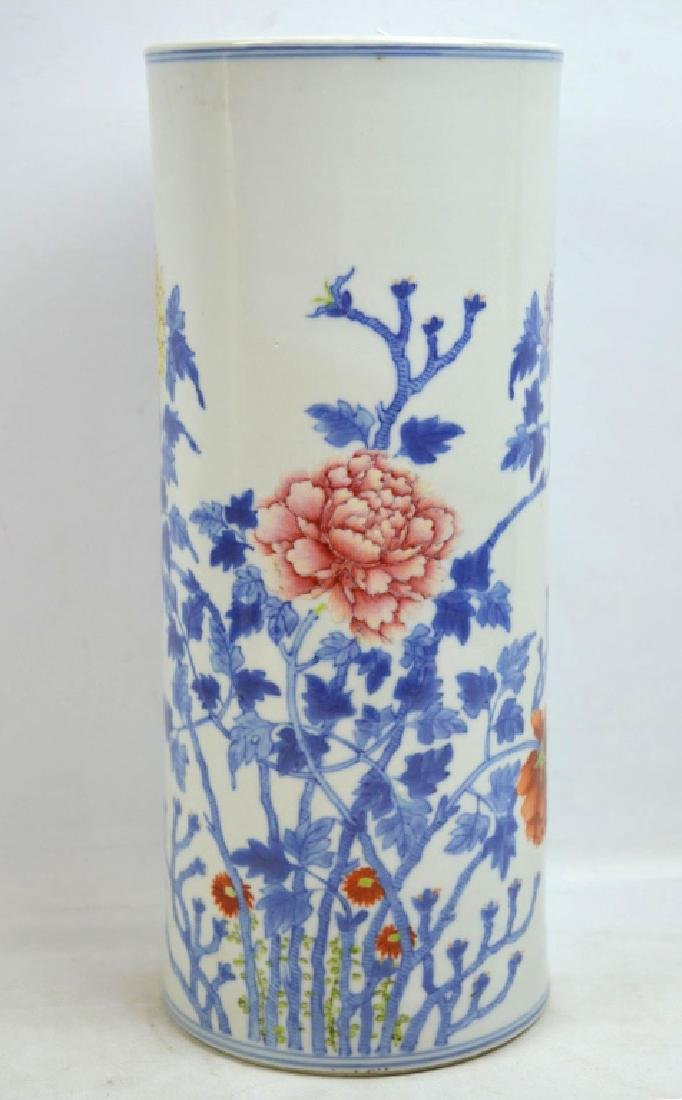 Chinese Doucai Porcelain Hat Stand