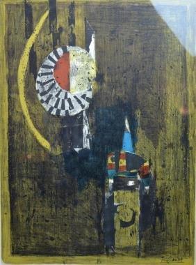 Johnny Friedlaender; 1972 Original Lithograph