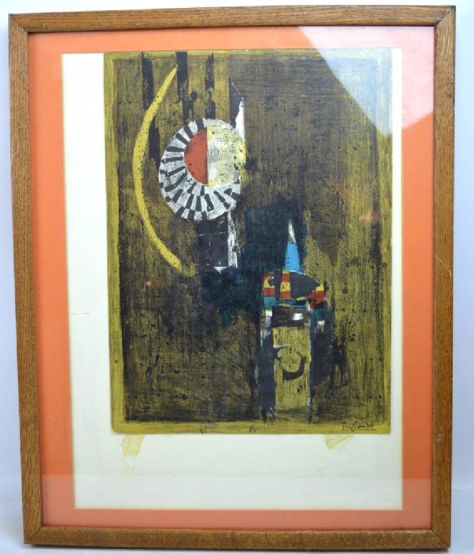 Johnny Friedlaender; 1972 Original Lithograph - 2