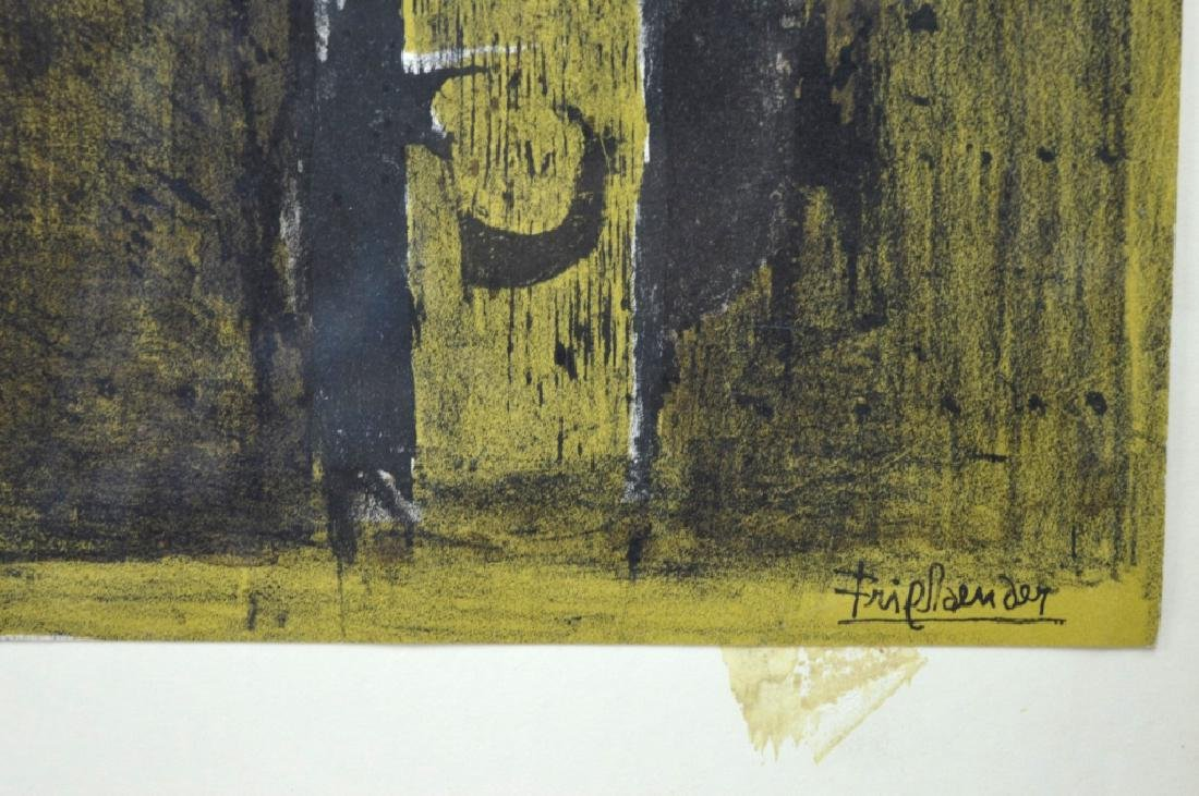 Johnny Friedlaender; 1972 Original Lithograph - 5