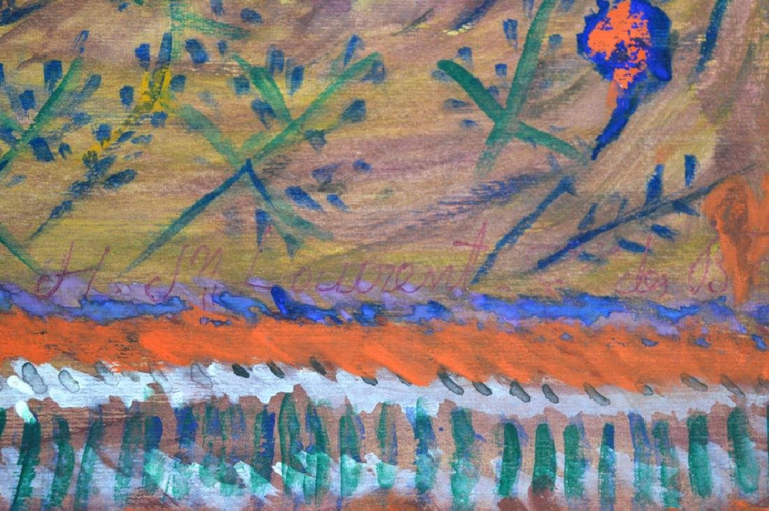 3 - H J Laurent Haitian Watercolors on Paper - 6