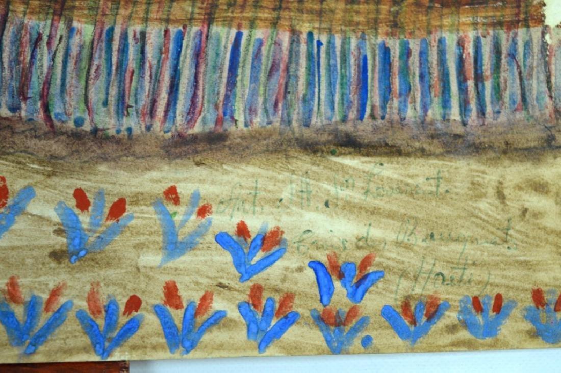 3 - H J Laurent Haitian Watercolors on Paper - 7