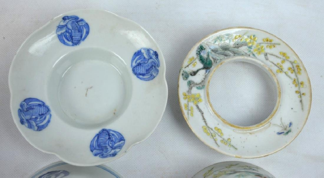 4 - 19th C Chinese Decorated Teacups - 4