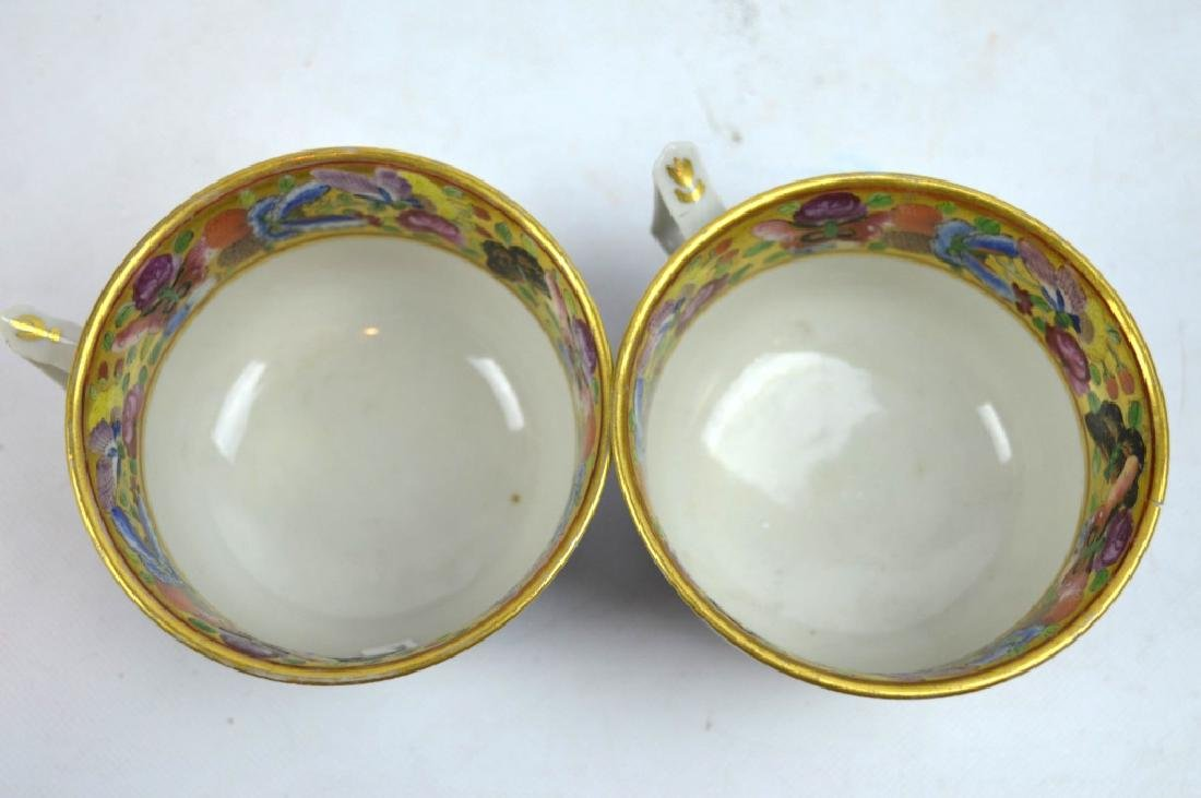 4 - 19th C Chinese Decorated Teacups - 9