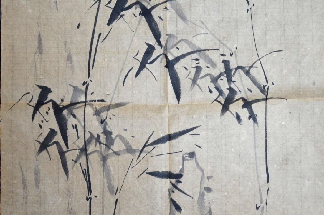 Unmounted Chinese Ink Painting of Bamboo - 3