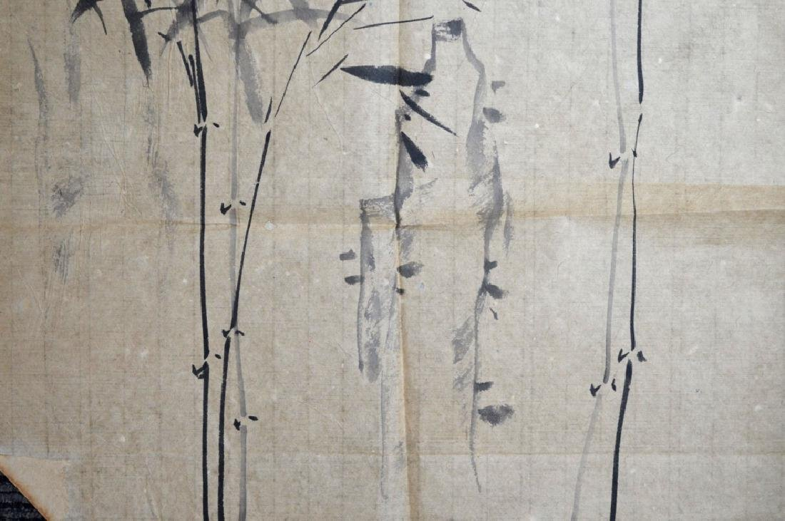 Unmounted Chinese Ink Painting of Bamboo - 4