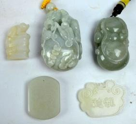 5 - Chinese Hardstone Carvings
