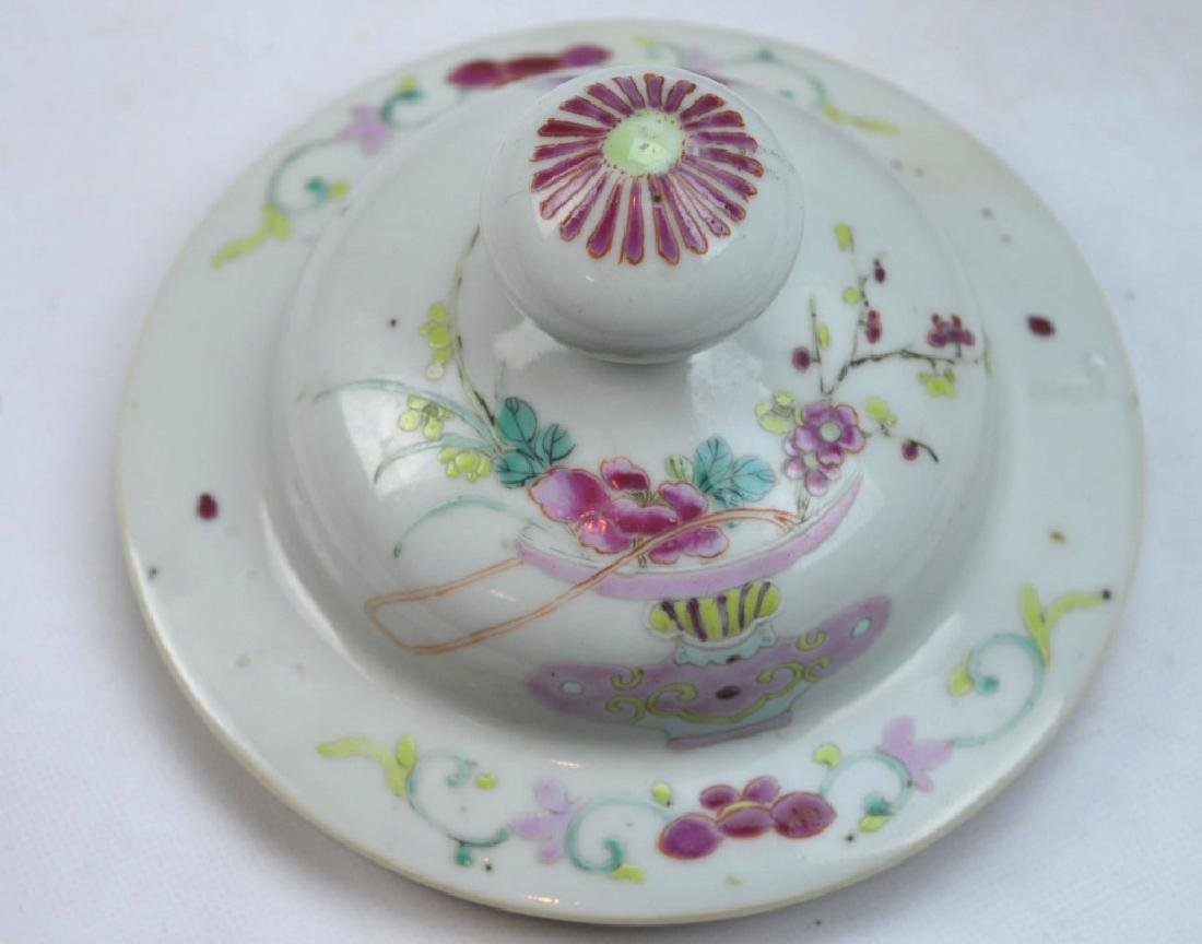 Pr Late Qing Chinese Famille Rose Porcelain Urns - 8