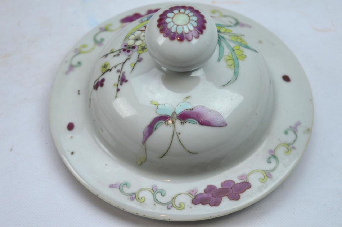 Pr Late Qing Chinese Famille Rose Porcelain Urns - 9