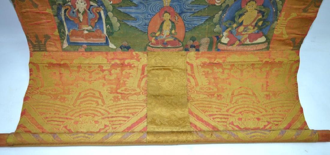 18th/19th C Tibetan Circular Symbolic Calendar - 8