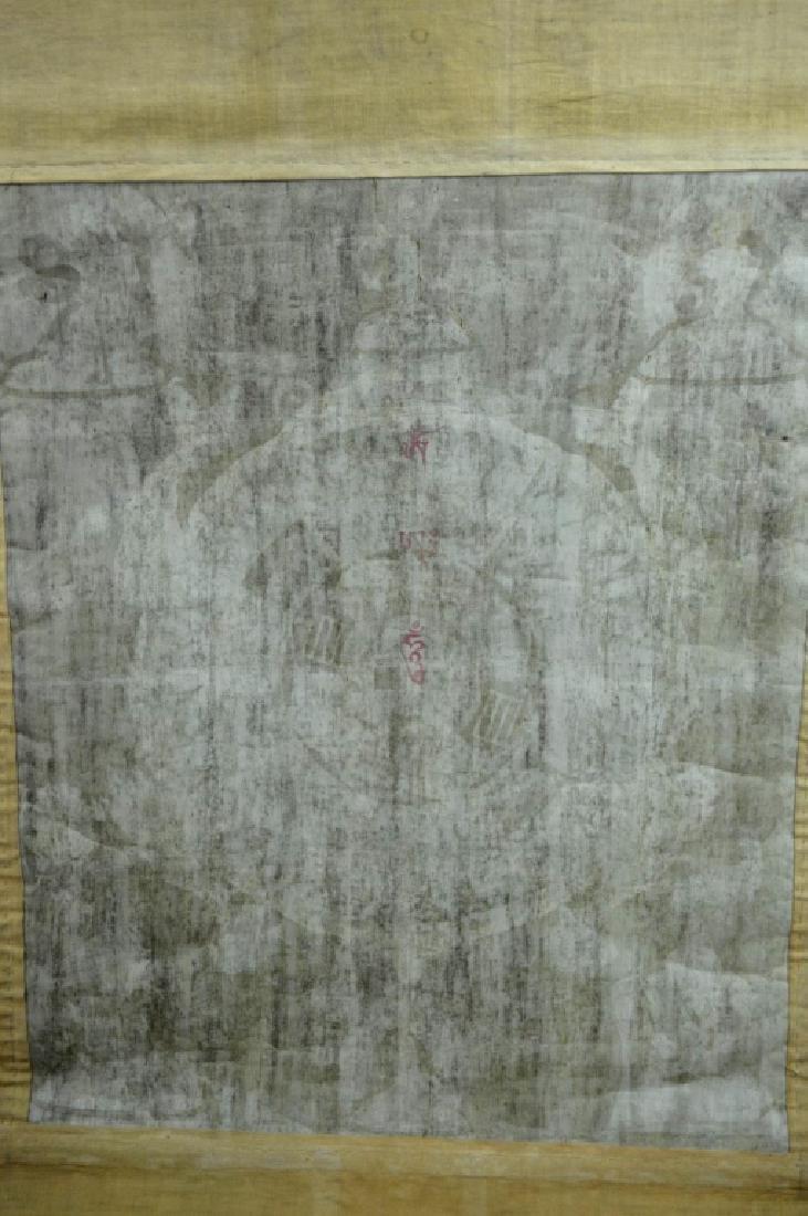 18th/19th C Tibetan Circular Symbolic Calendar - 9