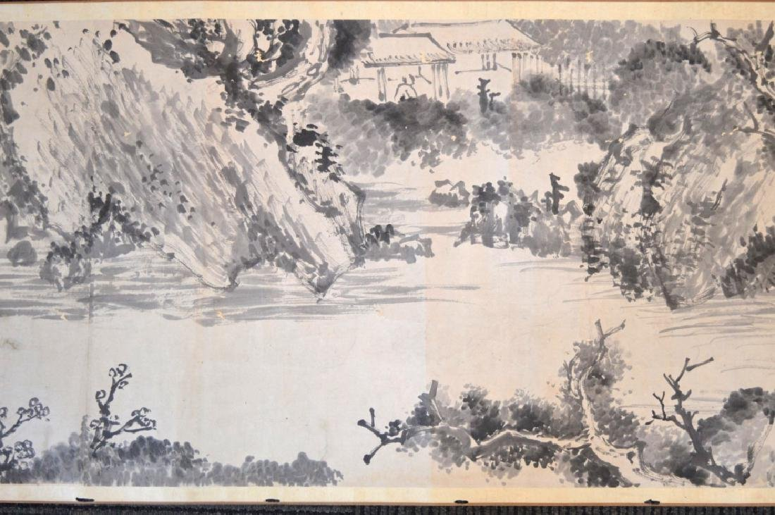 Chinese Antique Ink Handscroll - 3