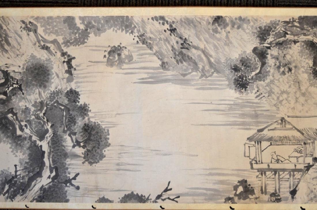 Chinese Antique Ink Handscroll - 5