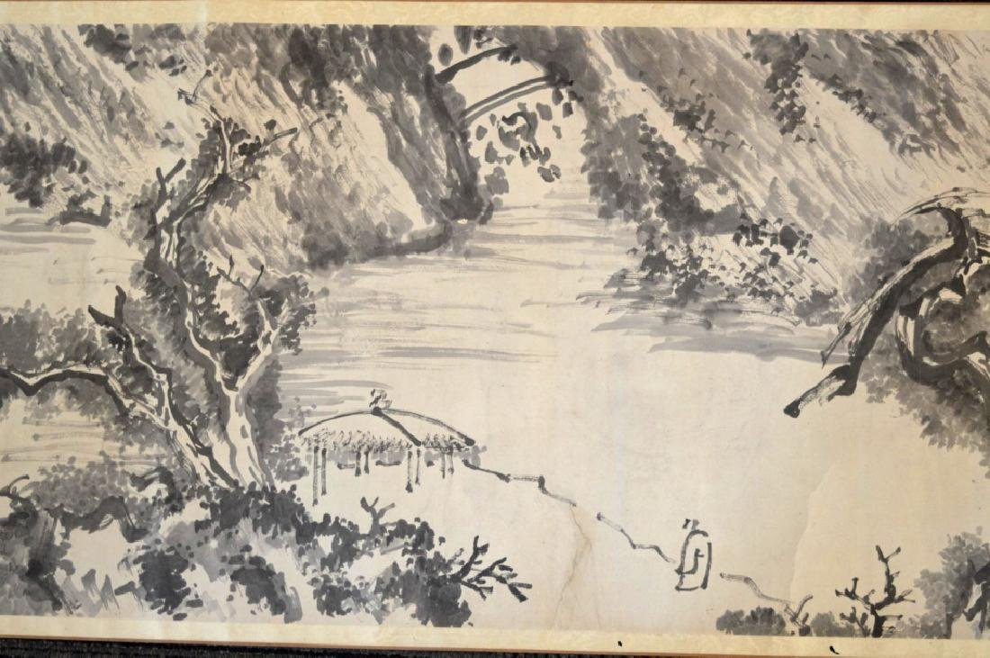 Chinese Antique Ink Handscroll - 6