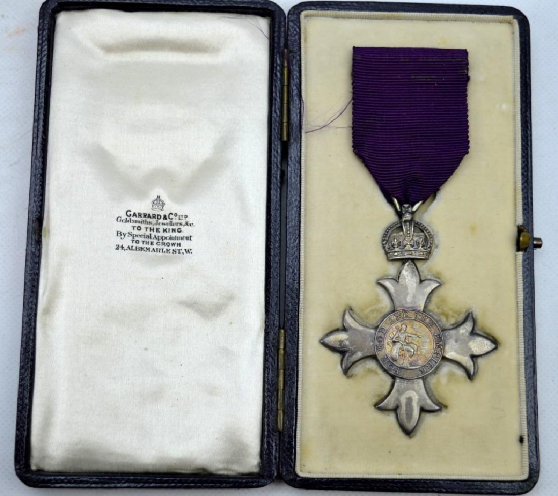 Rare 1917 King George V Order of British Empire