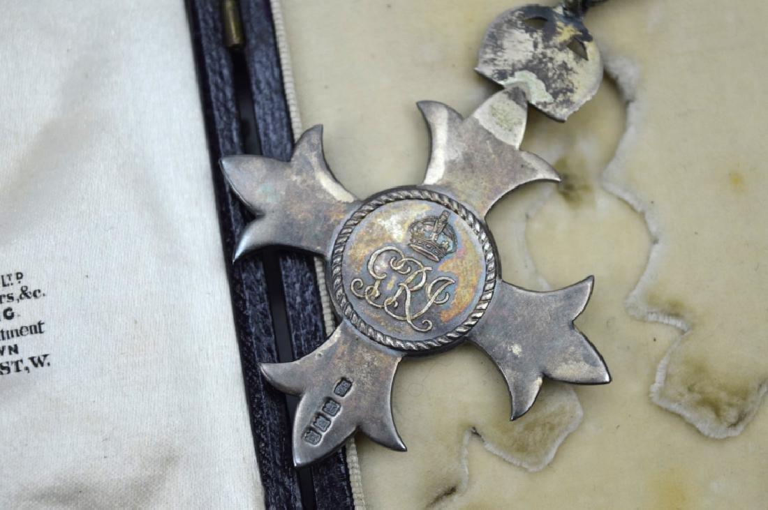 Rare 1917 King George V Order of British Empire - 5
