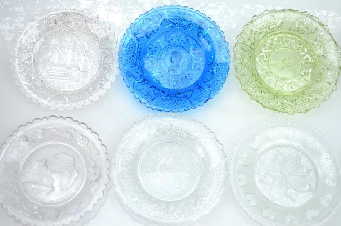 20 - Rare 19th C American Flint-Glass Cup Plates - 2