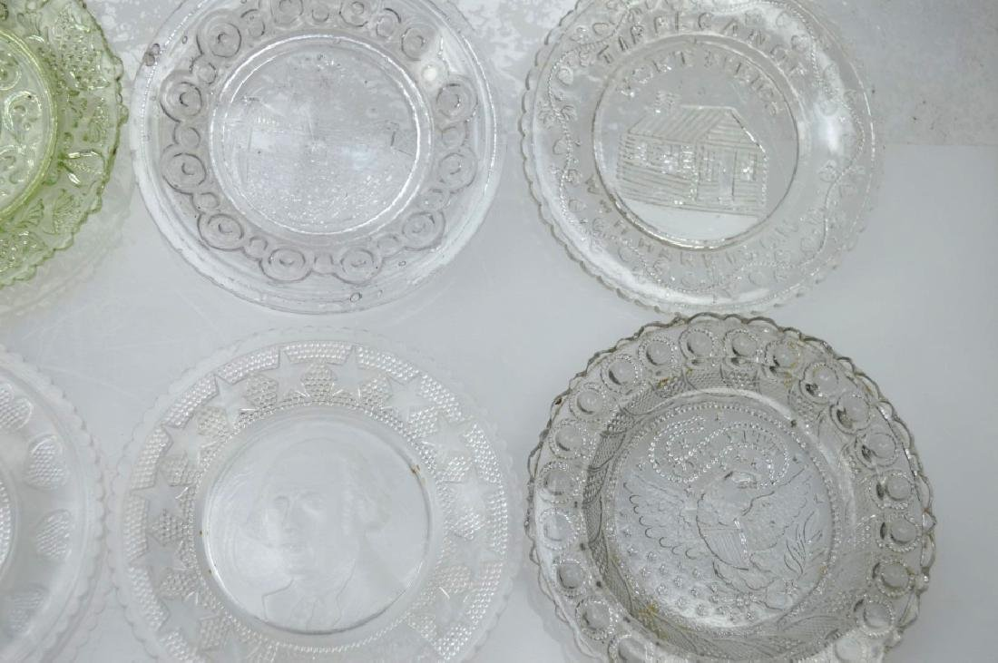 20 - Rare 19th C American Flint-Glass Cup Plates - 4