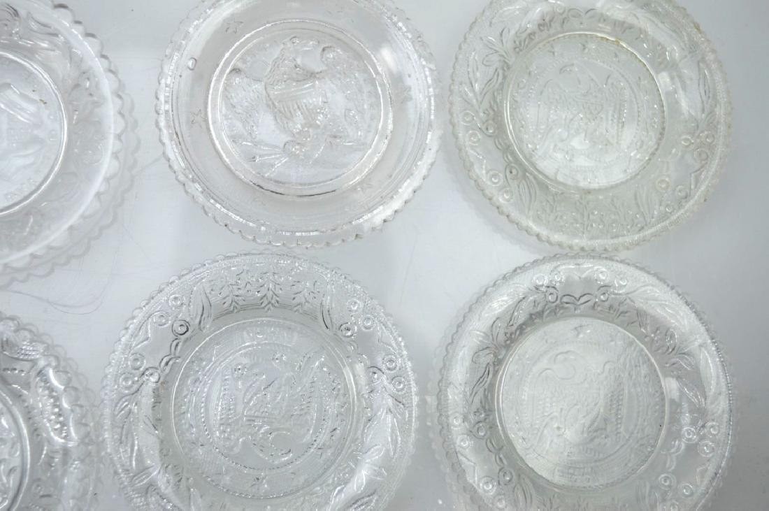 20 - Rare 19th C American Flint-Glass Cup Plates - 5