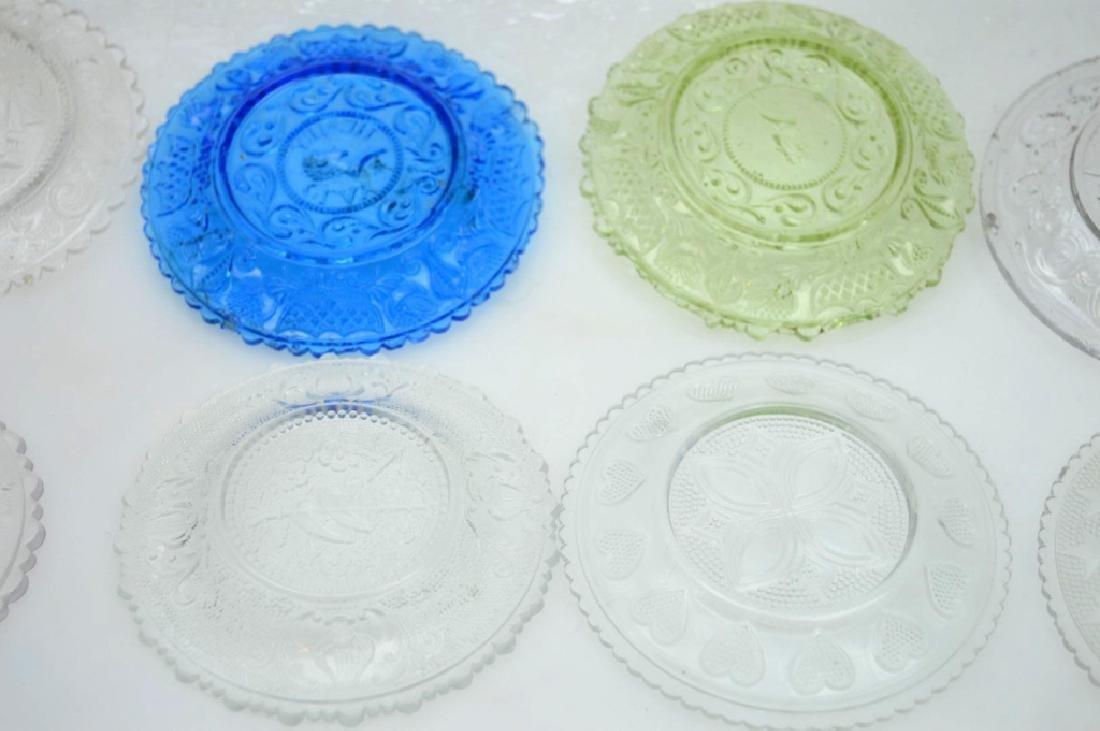 20 - Rare 19th C American Flint-Glass Cup Plates - 7
