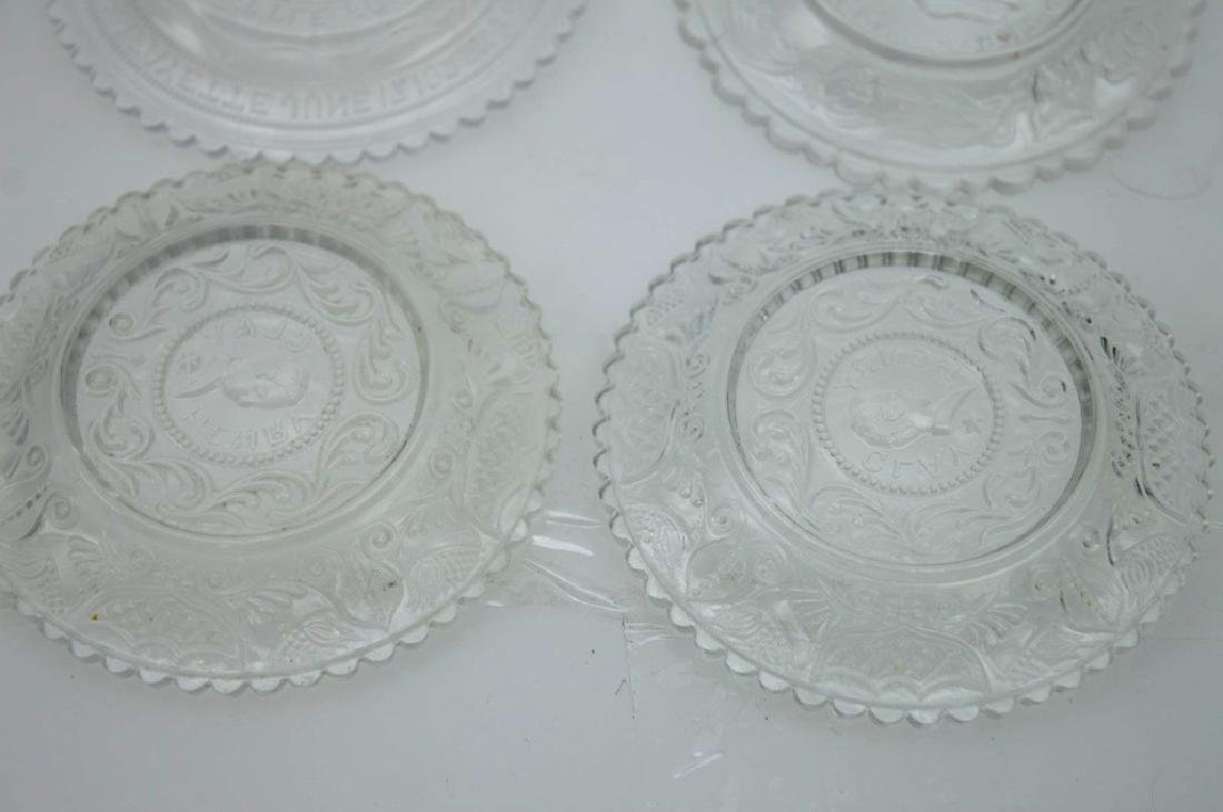20 - Rare 19th C American Flint-Glass Cup Plates - 8