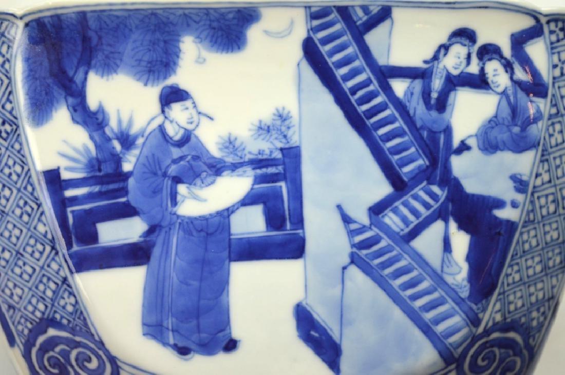 Christie's - Chinese Kangxi Square Porcelain Bowl - 10