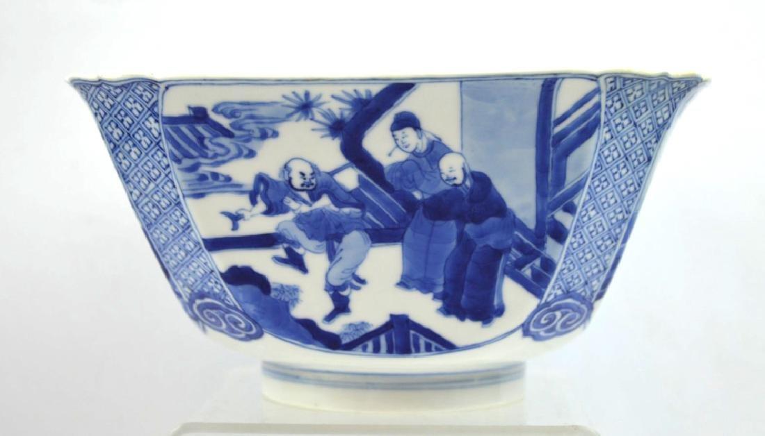 Christie's - Chinese Kangxi Square Porcelain Bowl