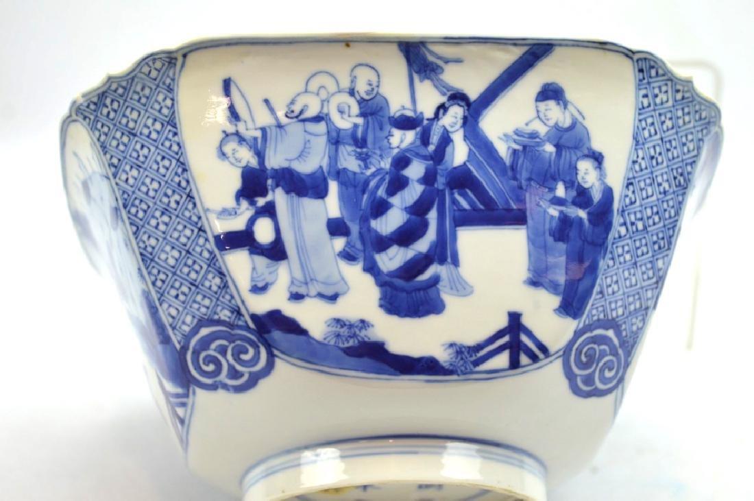 Christie's - Chinese Kangxi Square Porcelain Bowl - 3