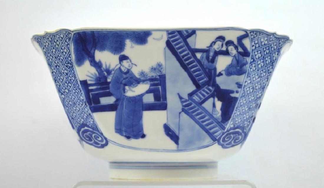 Christie's - Chinese Kangxi Square Porcelain Bowl - 4