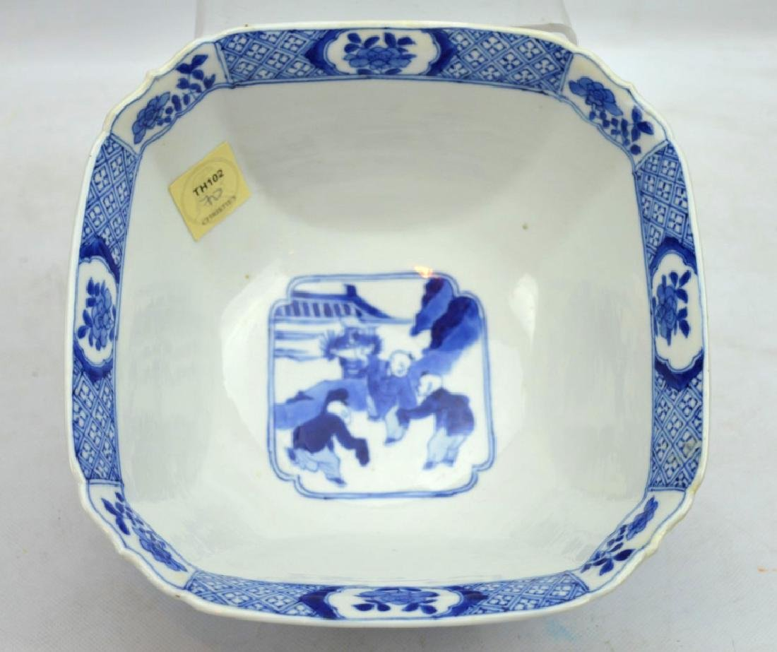 Christie's - Chinese Kangxi Square Porcelain Bowl - 5