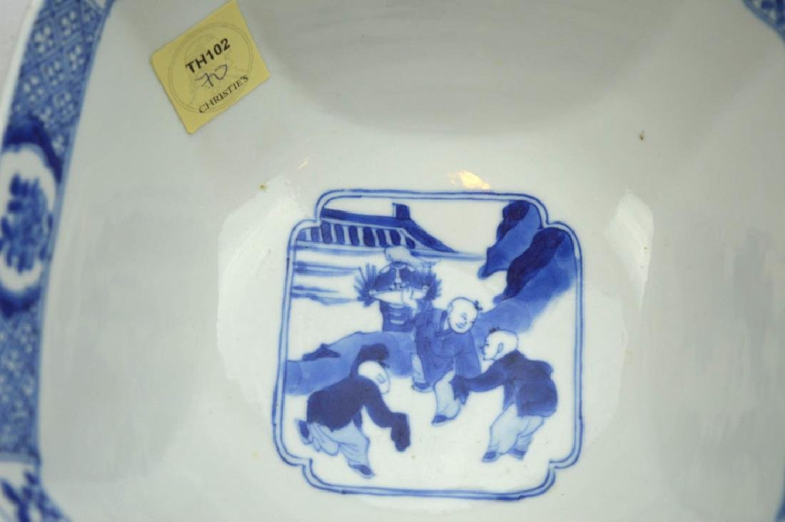 Christie's - Chinese Kangxi Square Porcelain Bowl - 6