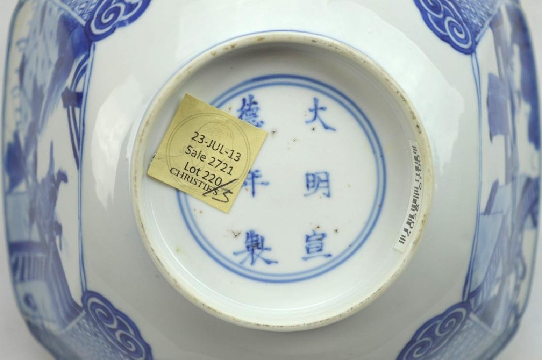 Christie's - Chinese Kangxi Square Porcelain Bowl - 7